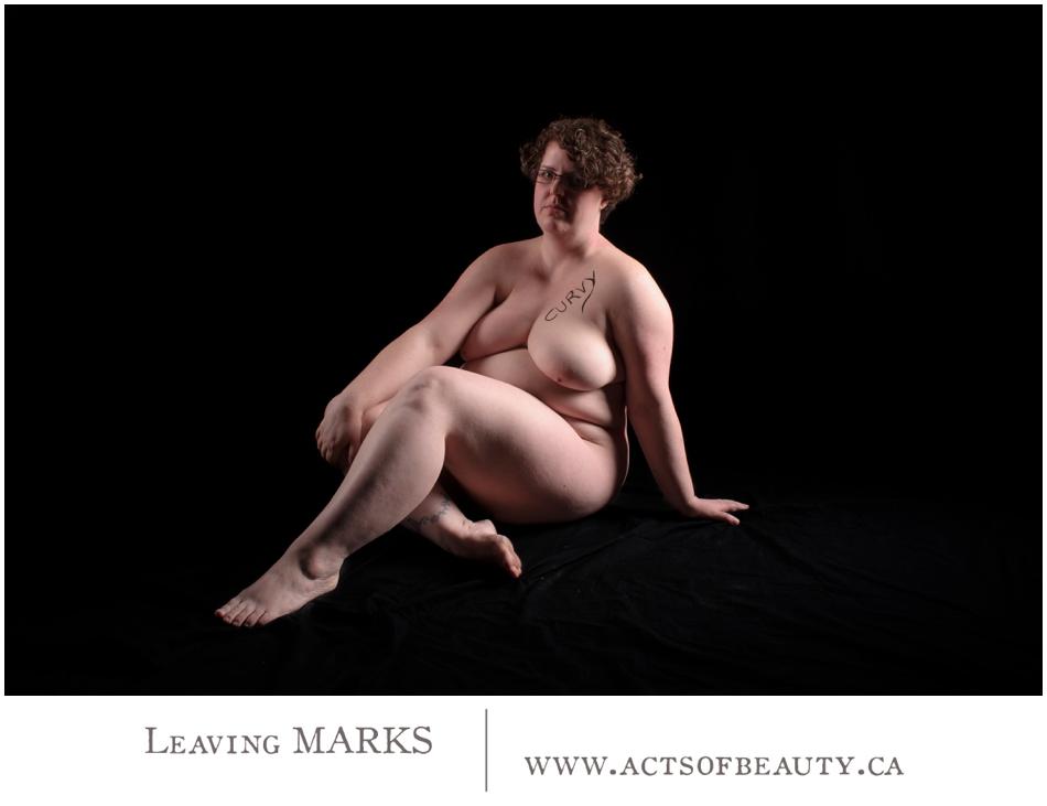 Nude art Edmonton Leaving Marks