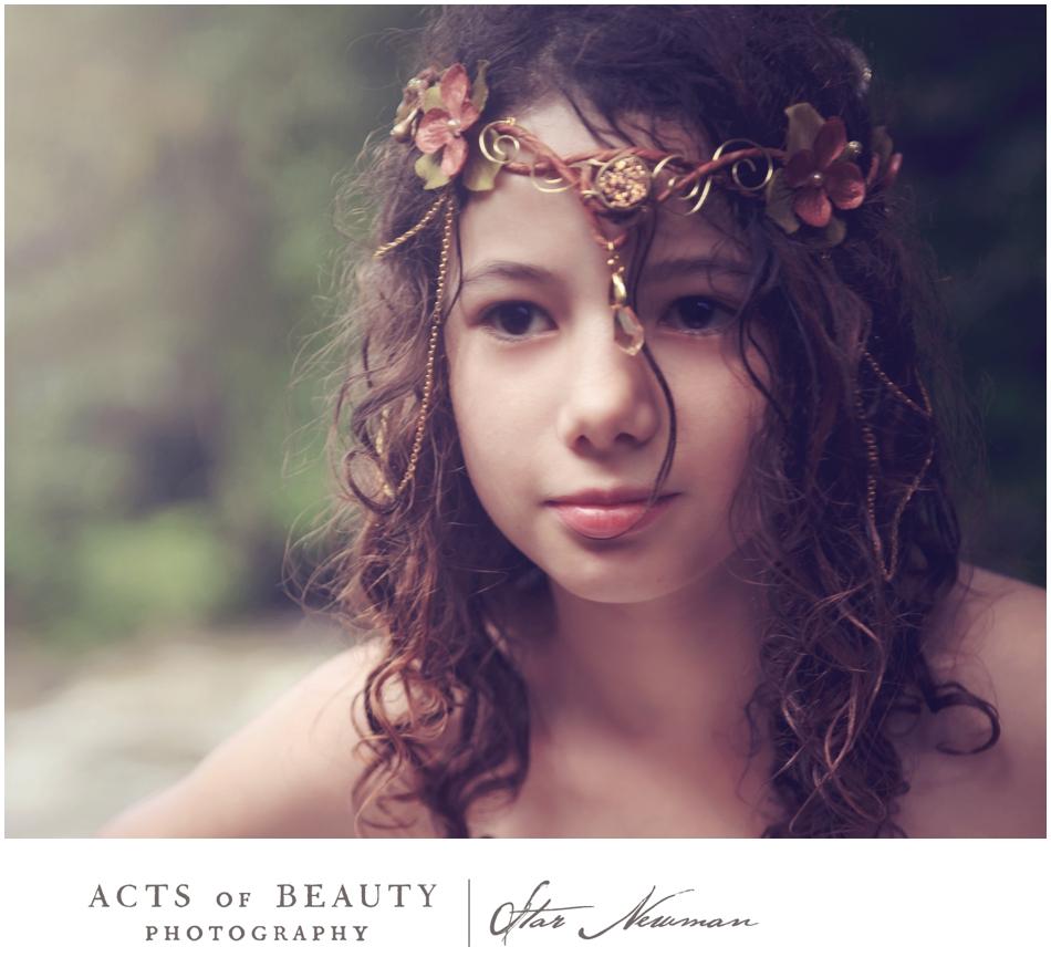fairy princess photo little girl