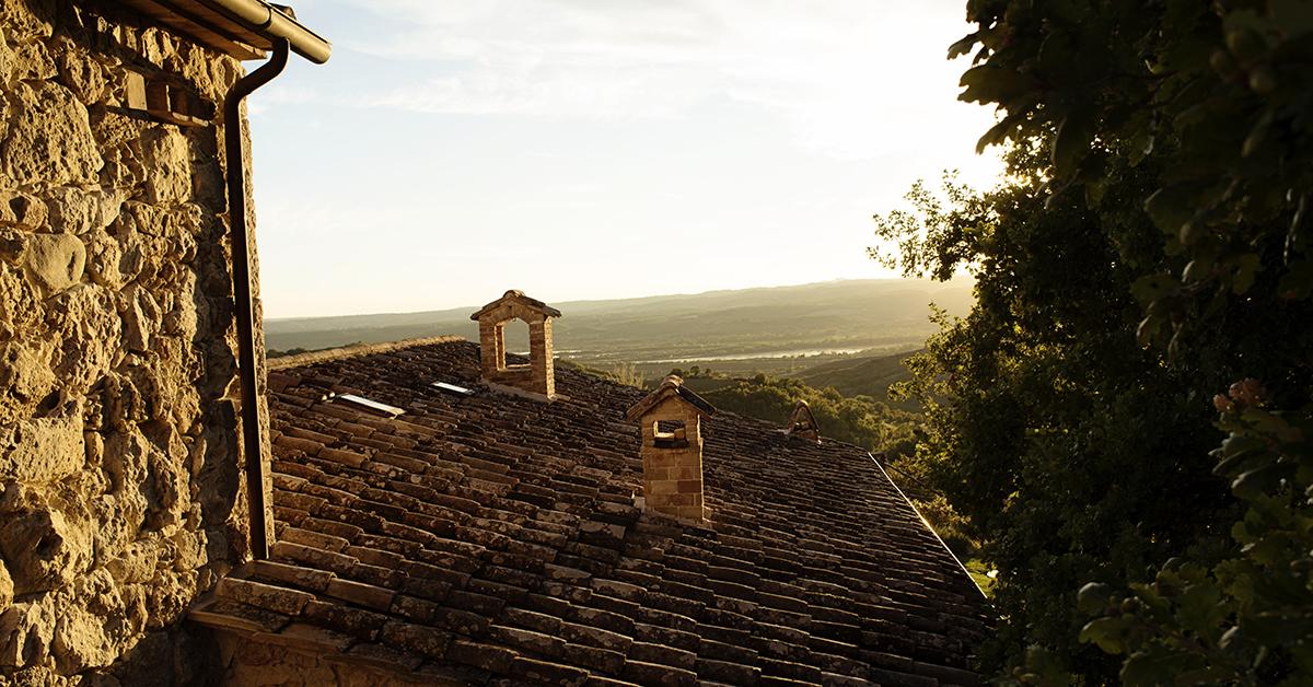Umbria-Italy-Sunset-Over-Villa