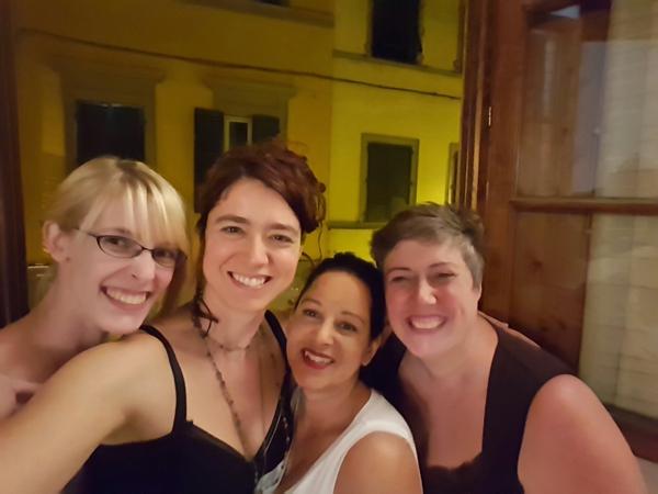 Florence Midnight Selfie