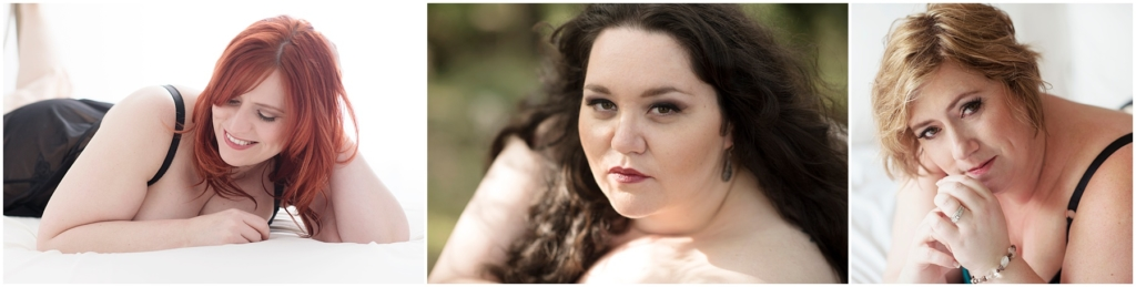 Beautiful plus size boudoir photos