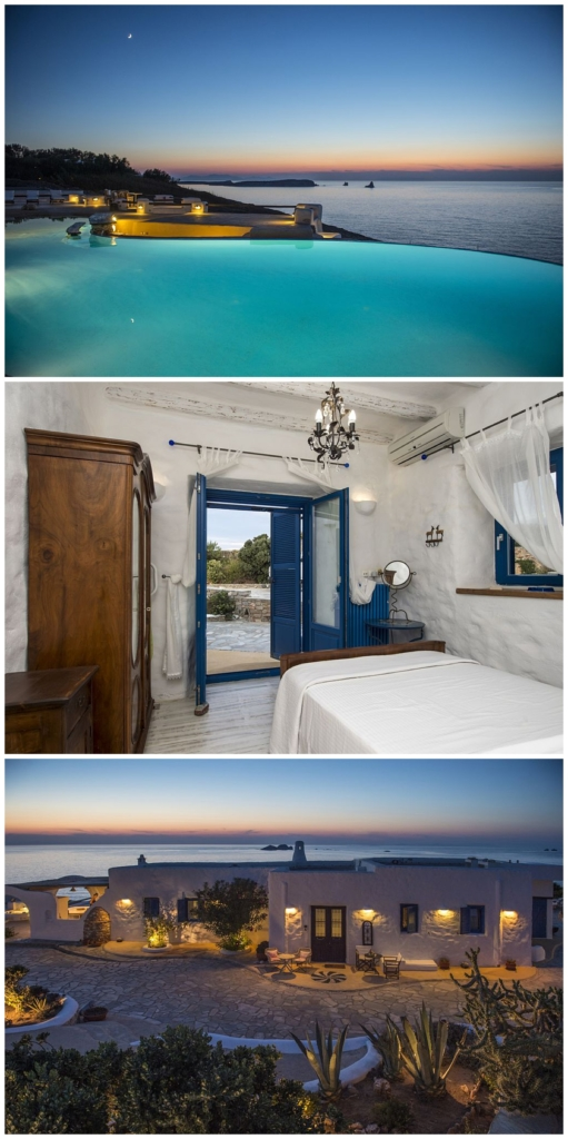 Destination boudoir women's retreat Greece Paros